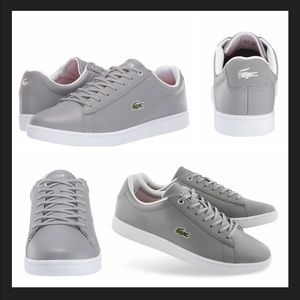 Lacoste Hydez 119 Grey Sneakers Sz 12 NWT